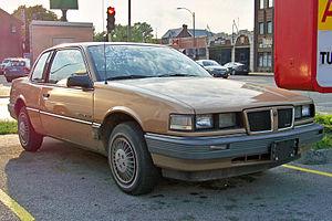 Pontiac Grand Am - 1985 Pontiac Grand Am SE coupe