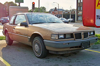Pontiac Grand Am - 1985 LE coupe