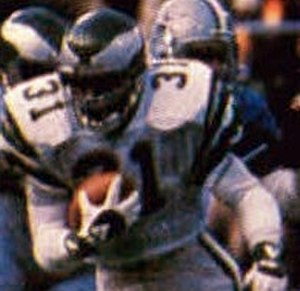 Wilbert Montgomery - Montgomery playing for the Eagles in the 1980 NFC Championship Game