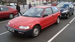 1991 Honda Civic 1.3 DX Automatic (16148187041).jpg