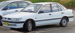 1992�1996 Mitsubishi Lancer (CC) GL 5-door hatchback (Australia)