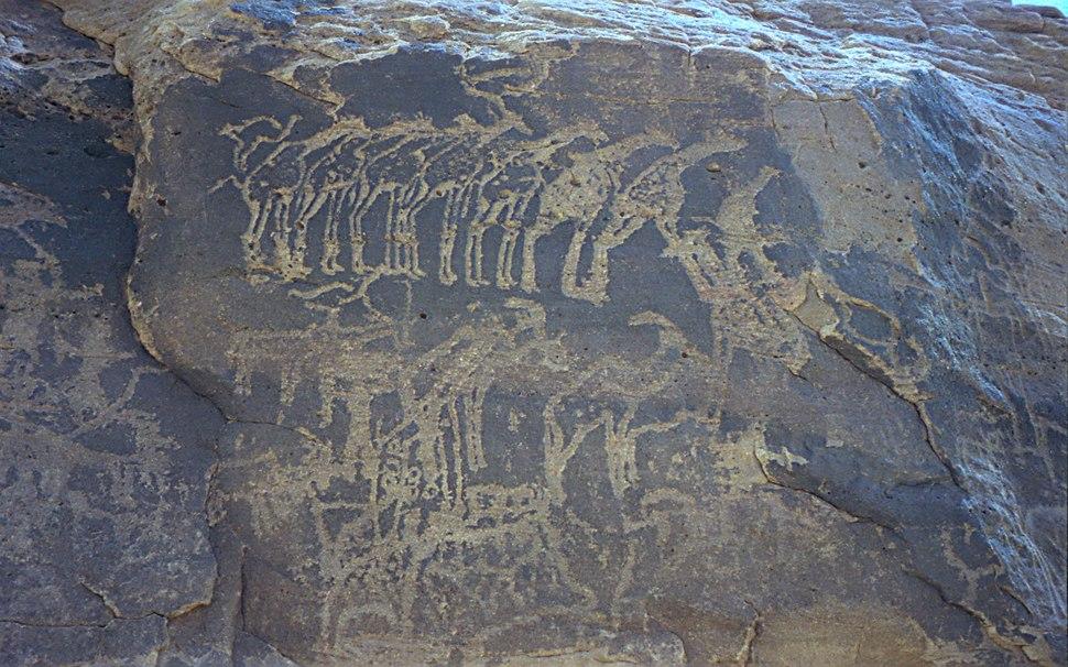 1997 278-10 Sahara glyph