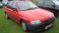 1997 Ford Escort 1.4i Encore (14416323429).jpg