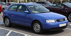 1998 Audi A3 Automatic 1.6 Front.jpg