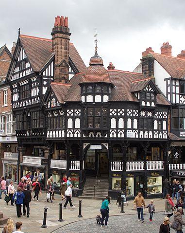 A photo of Bridge Street, Chester