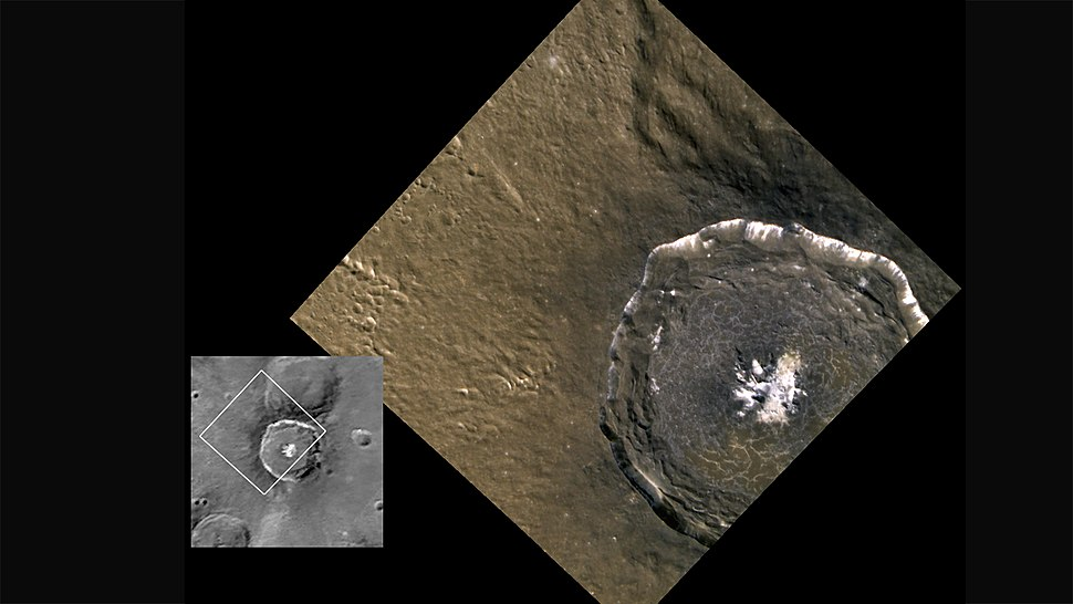 1 Denevi 5 Degas crater MESSENGER soacecraft