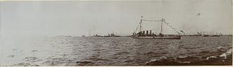 1st Battlecruiser Squadron - The squadron in Kronstadt, Russia, in June 1914. HMS ''Boadicea'' is in the foreground