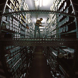 Marine isotope stage - A store of core samples