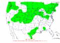 2003-02-03 24-hr Precipitation Map NOAA.png