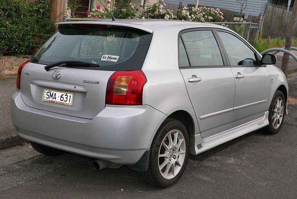 2003 Toyota Corolla Le Sedan 1 8l Auto