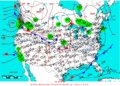 2005-01-09 Surface Weather Map NOAA.png