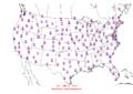 2006-01-28 Max-min Temperature Map NOAA.png