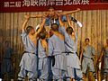 2007TaipeiITF PressConference MartialArts ShaolinMonastery.jpg