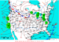 2009-02-16 Surface Weather Map NOAA.png