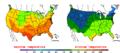 2009-05-26 Color Max-min Temperature Map NOAA.png