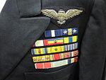 2011-148-72 Uniform, Service Dress Blue Jacket, Ribbon Bars, FADM, W.F. Halsey (5964105323).jpg
