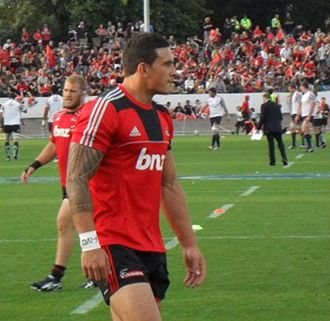 Sonny Bill Williams - Williams playing for the Crusaders, 2011.
