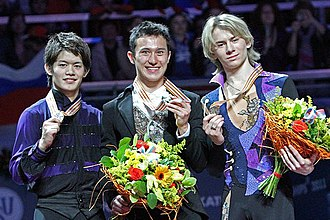 2011 World Figure Skating Championships - The men's medalists