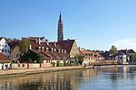 2012-10-06 Landshut 084 Altstadt, Isar, St. Martin (8062519581).jpg