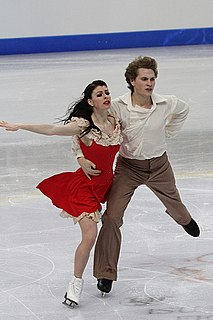 Nicole Orford Canadian ice dancer