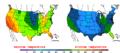 2013-05-04 Color Max-min Temperature Map NOAA.png