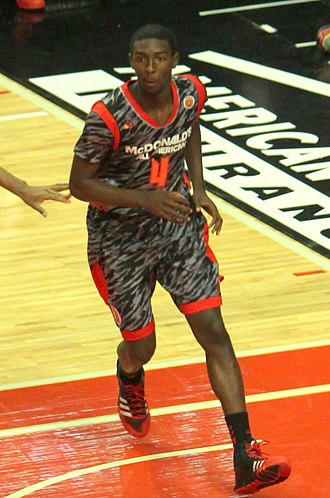 Isaac Hamilton - Hamilton in the 2013 McDonald's All-American Game