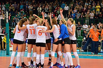 Sport in the Netherlands - Women's national volleyball team