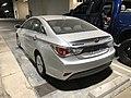 2013 Hyundai Sonata Hybrid with US Government license plates (Rear-Left).jpg