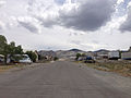2014-07-28 12 06 46 View east along Brucite Street in central Gabbs, Nevada.JPG