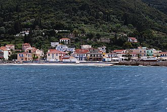 Sami, Cephalonia - View of Sami