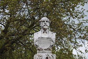 Lorentzos Mavilis - Bust in Ioannina