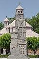 2014 Prowincja Armawir, Wagharszapat, Pomnik ludobójstwa Ormian (01).jpg
