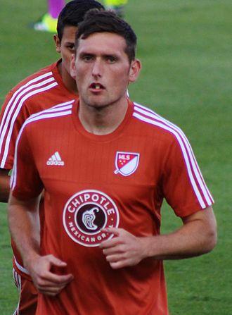 Shane O'Neill (soccer) - O'Neill in 2015