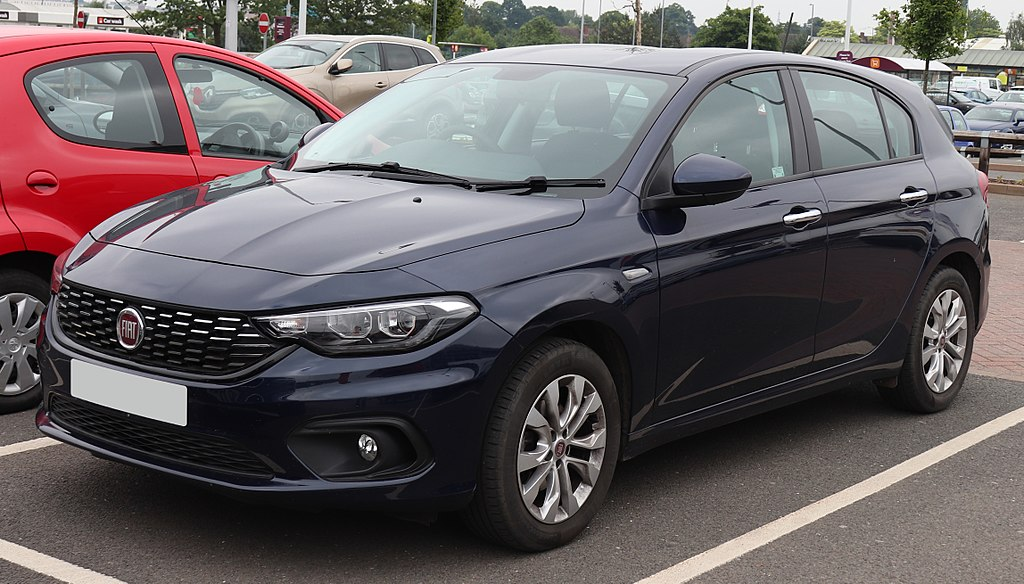 File2016 Fiat Tipo Easy T Jet 14 Frontg Wikimedia Commons