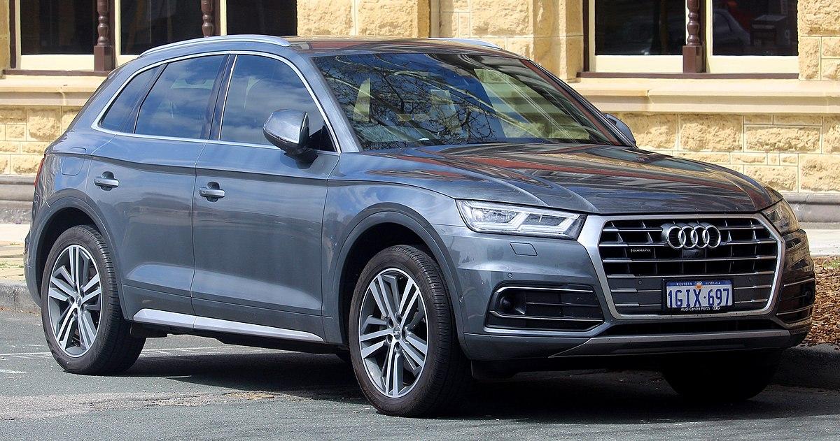 Audi q5 model changes