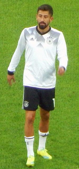 Kerem Demirbay - Demirbay with Germany in 2017