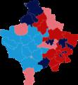 2017 Kosovan parliamentary election Map.png