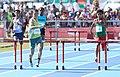 2018-10-16 Stage 2 (Boys' 400 metre hurdles) at 2018 Summer Youth Olympics by Sandro Halank–022.jpg