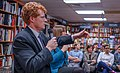 2018.03.20 Sarah McBride and Rep Joe Kennedy, Politics and Prose, Washington, DC USA 4124 (39136956190).jpg