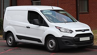 compact panel van manufactured by Ford