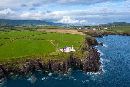 Dingle Lighthouse, at the entrance of Dingle Bay