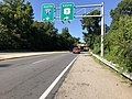 2019-08-12 09 23 41 View south along U.S. Route 1 (Richmond Highway) at the exit for Interstate 95 SOUTH in Lorton, Fairfax County, Virginia.jpg