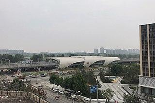 Mengzhuang station A station of Zhengzhou Metro Chengjiao line