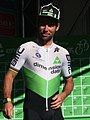 2019 ToB stage 1 061 Mark Cavendish in Glasgow.JPG