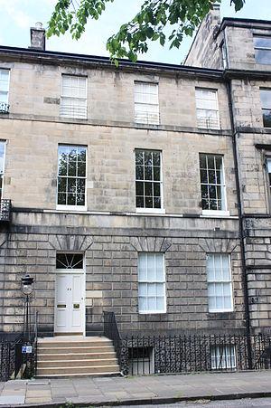 James Pillans - Pillans home at 22 Abercromby Place, Edinburgh