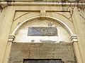 231 Entrada de la mina del Santuari (Canet de Mar), inscripció.JPG
