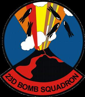23d Bomb Squadron - Image: 23d Bomb Squadron