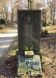 Grab von Wilhelm Urban auf dem Alten Südlichen Friedhof in München Standort48.12719444444411.564222222222 (Quelle: Wikimedia)