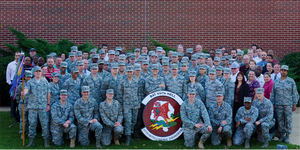 27th Intelligence Squadron - 27 Intelligence Squadron after winning the Grant Award