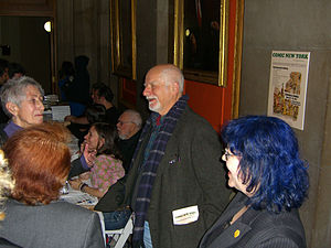 Chris Claremont - Claremont at the Comic New York symposium at Columbia University on March 24, 2012